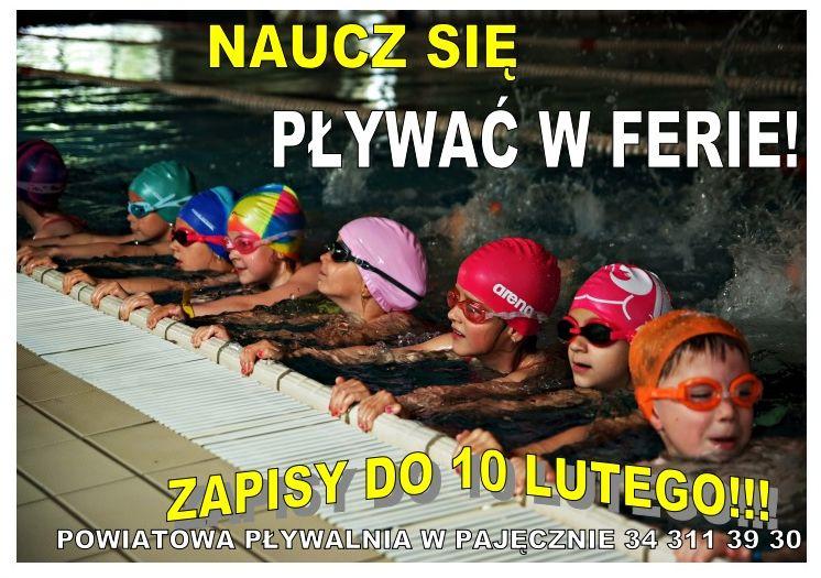 Kursy pływania w Ferie 2016