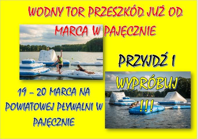 Wodny Tor Przeszkód!